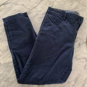 Banana Republic Men's Fulton Skinny 34 30 pants